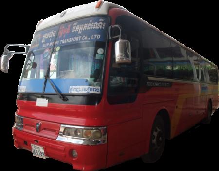 カンボジアの長距離バスまとめ バス会社編