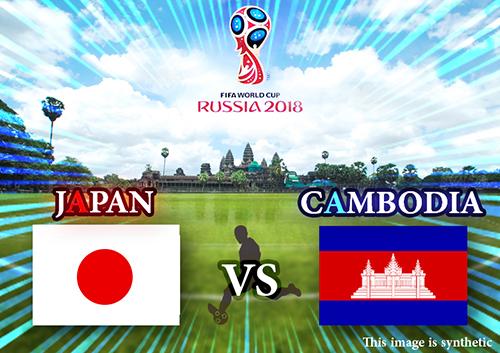 本日サッカー日本代表 カンボジア入り