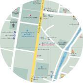 お役立ち地図/シェムリアップ北部